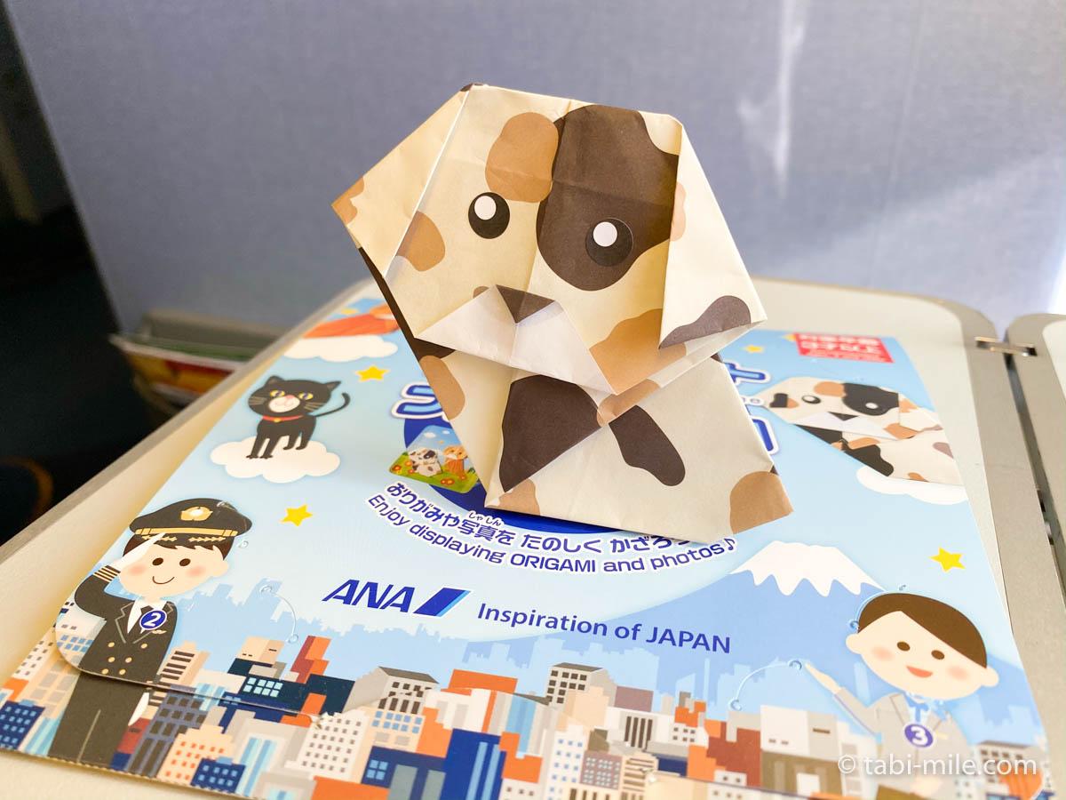 羽田空港、飛行機、おもちゃ、折り紙3