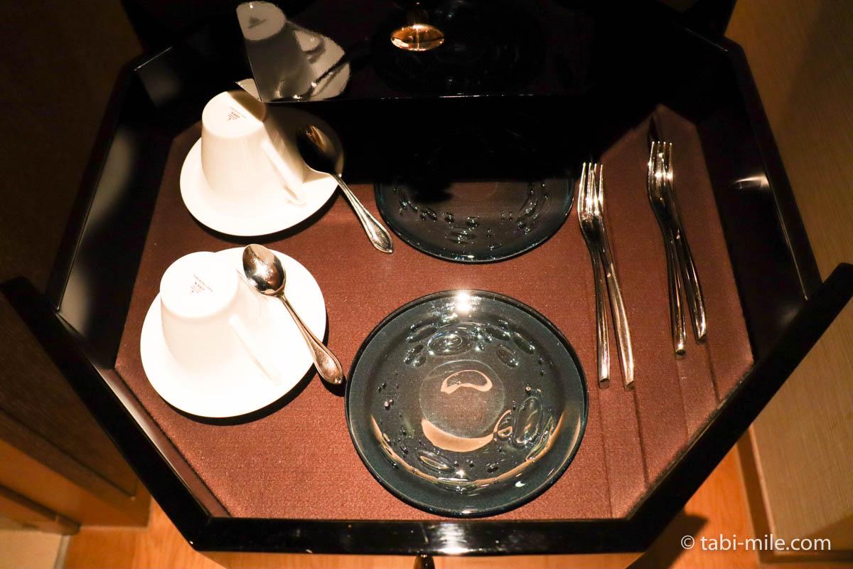 リッツ・カールトン沖縄、客室、ティーカップ