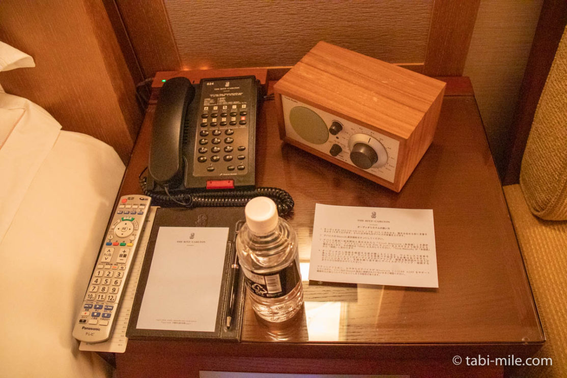 リッツ・カールトン沖縄、客室、電話