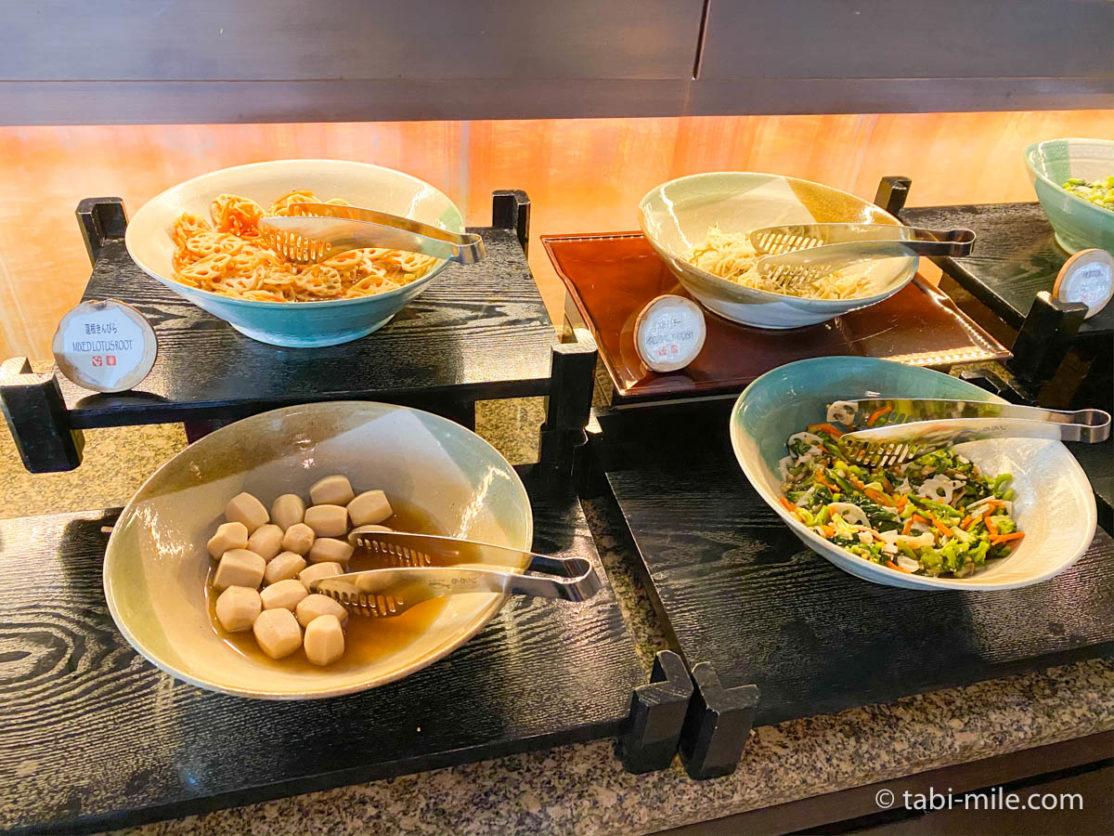 リッツカールトン沖縄、朝食ビュッフェ、グスク、煮物