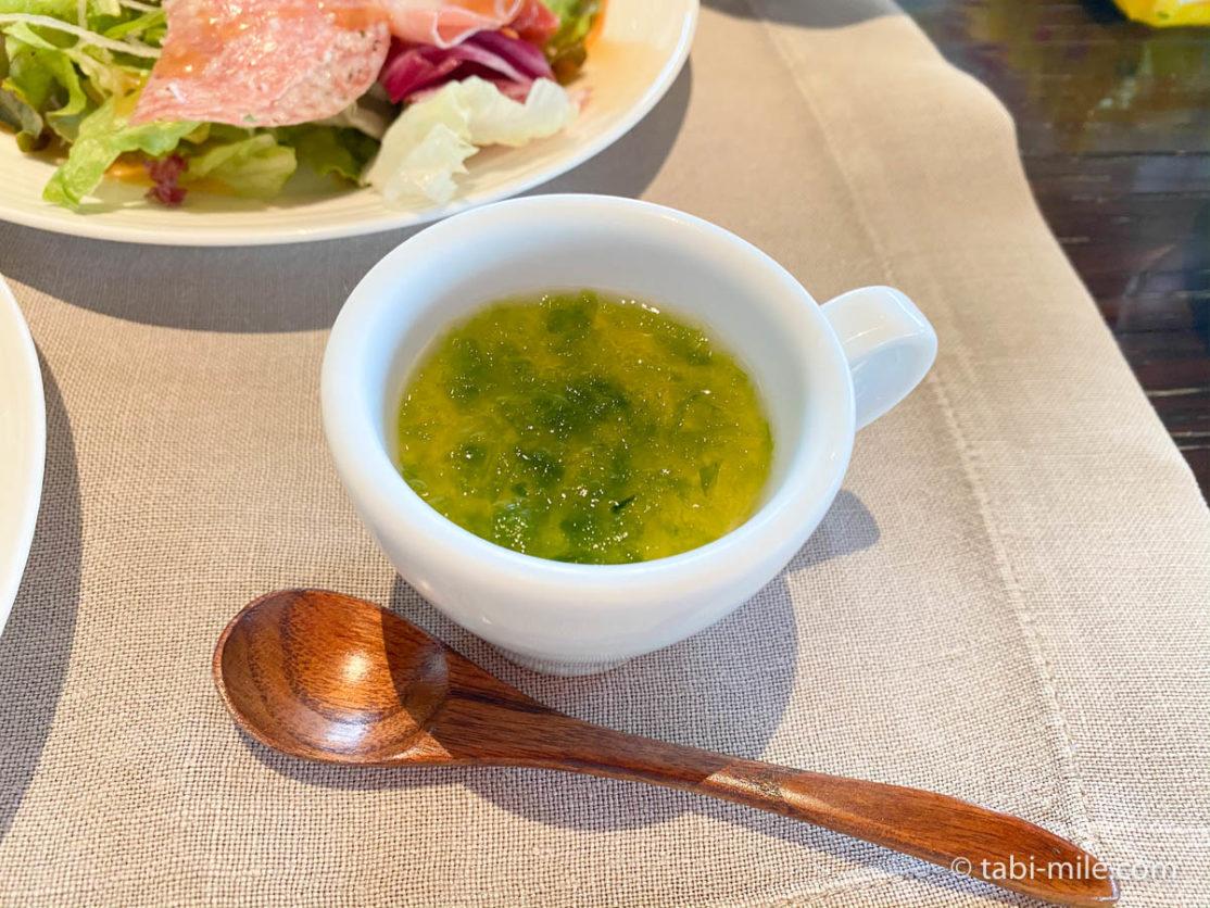 リッツカールトン沖縄、朝食ビュッフェ、グスク、茶碗蒸し