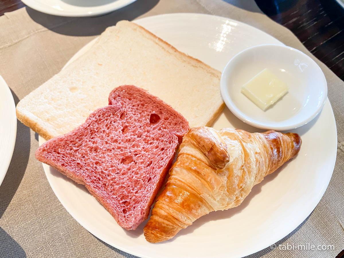リッツカールトン沖縄、朝食ビュッフェ、グスク、食べた朝食、クロワッサン