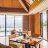 リッツカールトン沖縄、朝食ビュッフェ、窓側席
