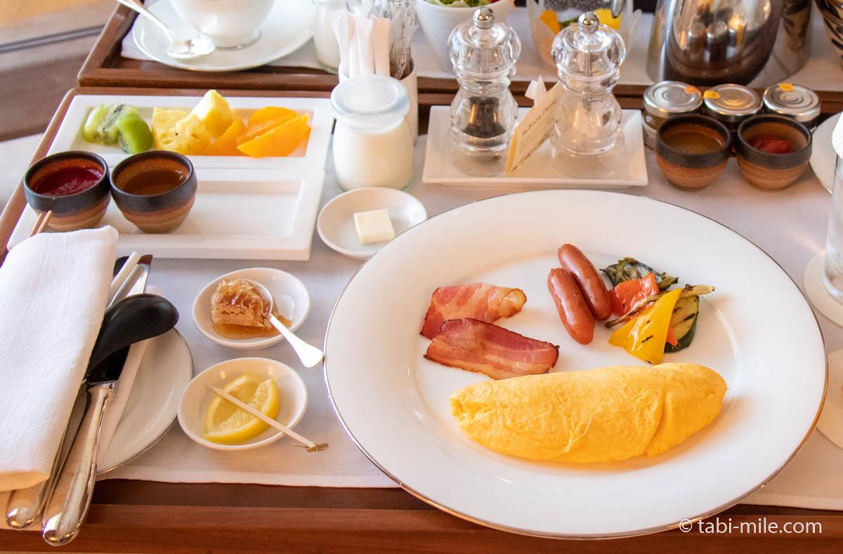 ザ・リッツ・カールトン沖縄 ルームサービス朝食