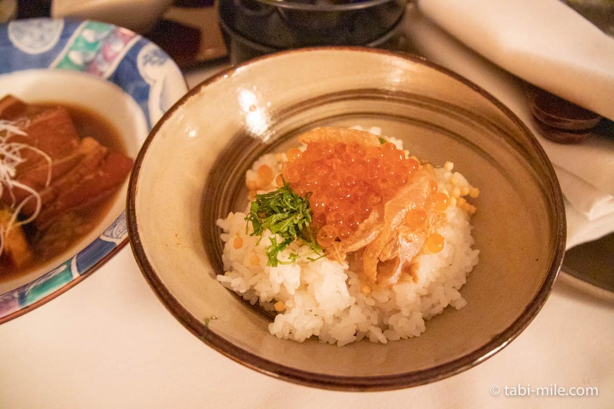 リッツ・カールトン沖縄、ルームサービス、夕食、お茶漬け