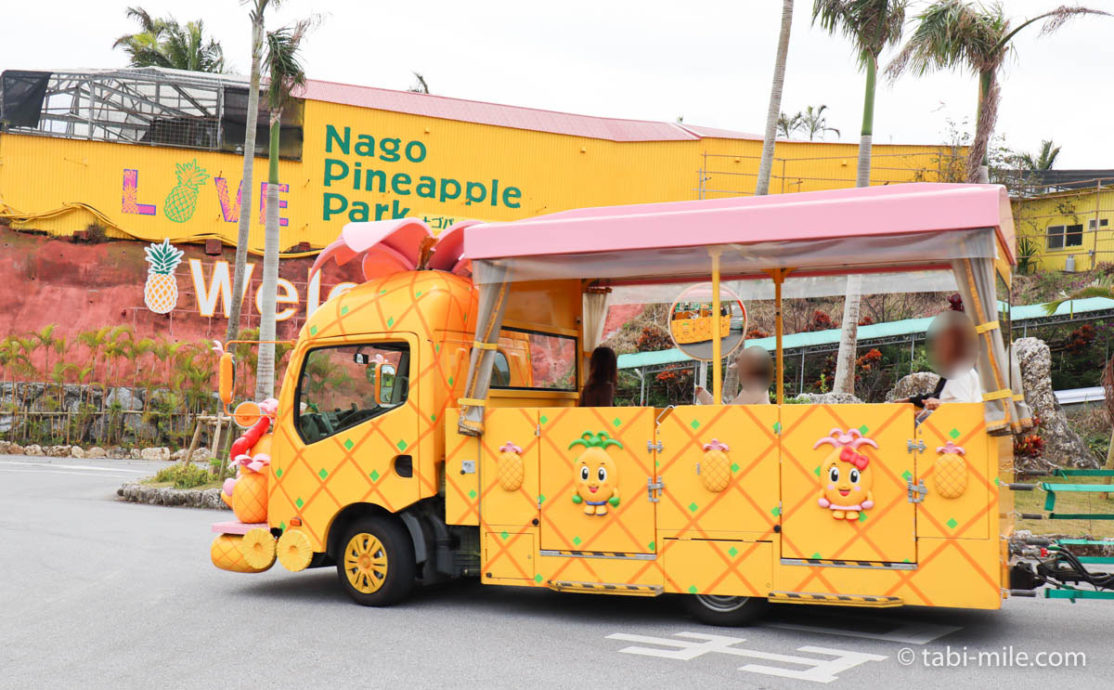 ナゴパイナップルパーク 、バス
