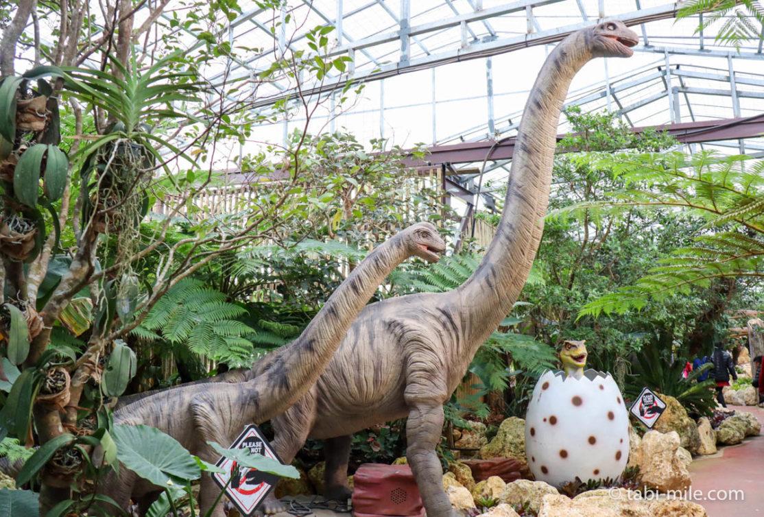 ナゴパイナップルパーク、恐竜