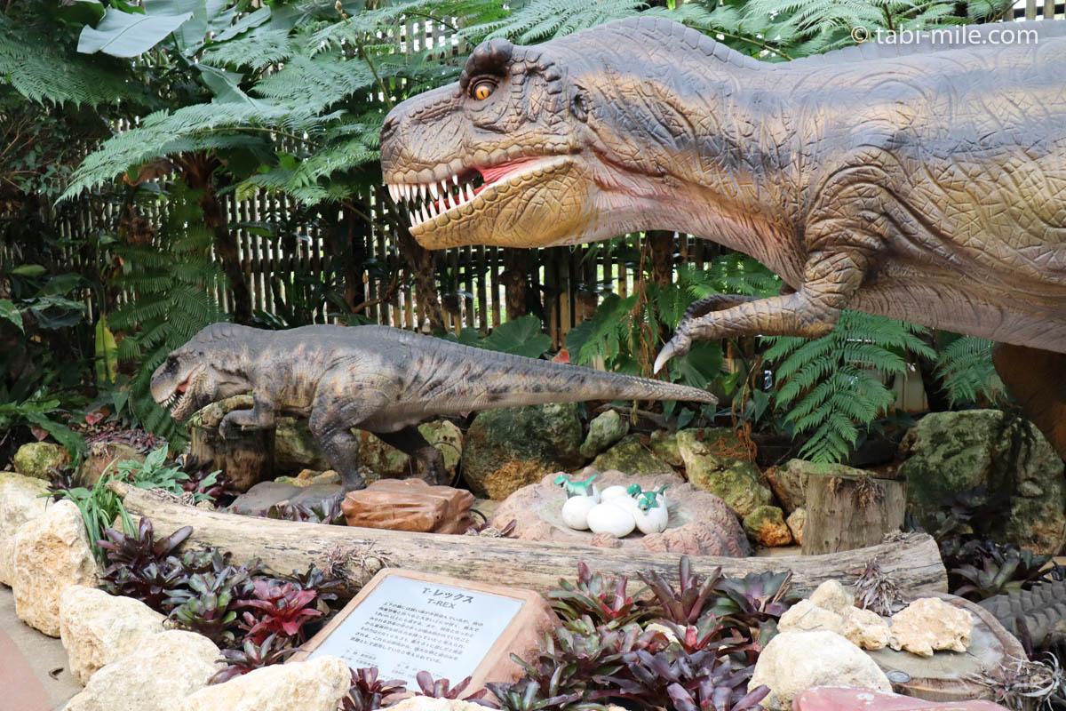 ナゴパイナップルパーク、リアルな恐竜